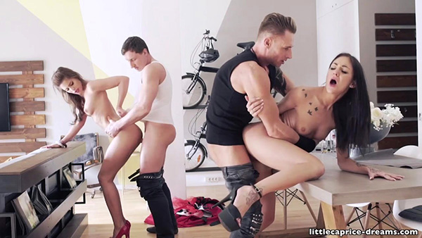 [LittleCapriceDreams] Little Caprice – Swinger Party Rockabilly Style – Wecumtoyou Part 5 [720p]