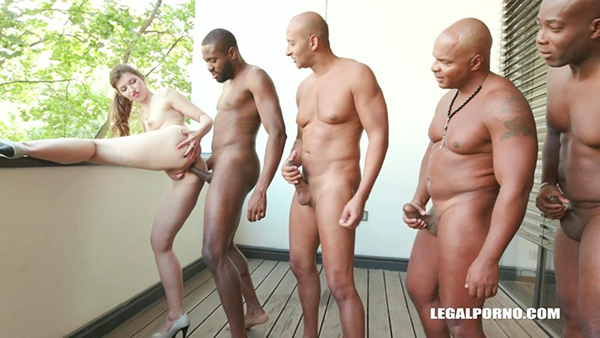 [LegalPorno] Susan Ayn Is Back To Test 4 Black Bulls And Gets 2 Cocks In The Ass – IV185 [720p]