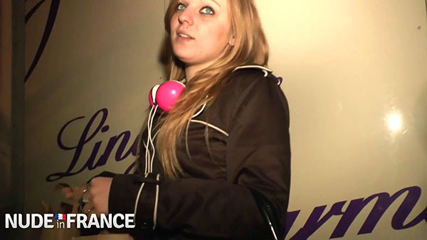 [LaFRANCEaPoil] Jess – First time experience for our pretty student Jessica in a club for swingers [720p]