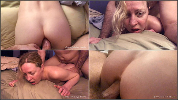 [PornHubPremium] PAINAL – Cute Blonde gets her Ass Fucked W Vibrator Stuffed in her Pussy [720p]