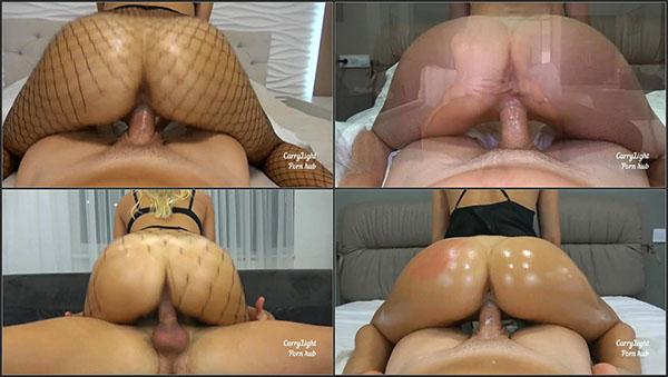 [PornHubPremium] Riding Compilation with Creampies by Amateur Couple Carry Light – Non-Stop Cowgirl Action until creampies galore!!! [720p]